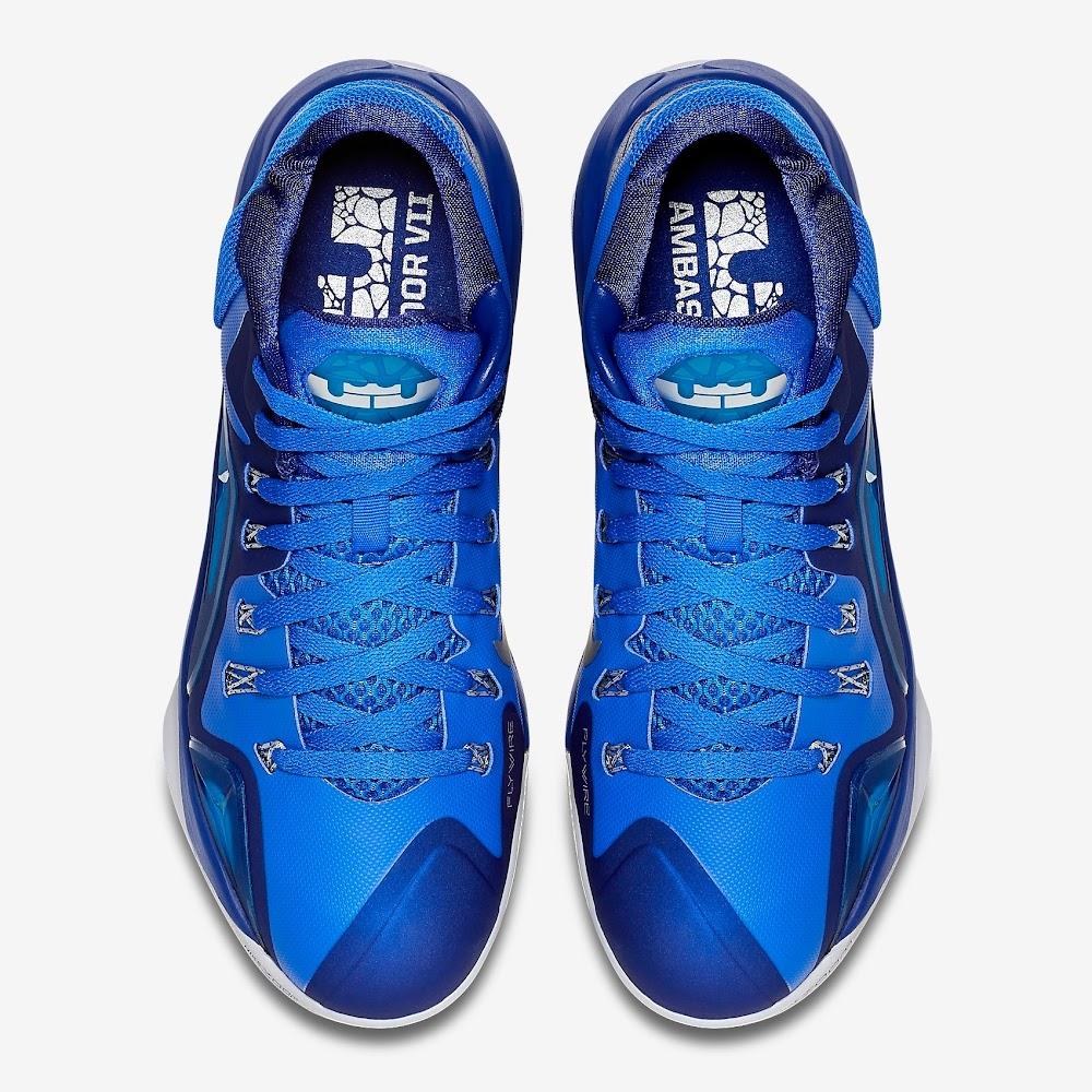 pretty nice 93069 496b8 ... Nike Ambassador VII 7 Lyon Blue amp Metallic Silver