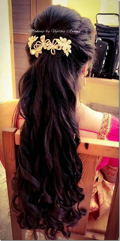 Indian Wedding Hairstyles (59)