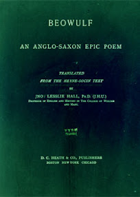 Cover of Lesslie Hall's Book Beowulf An Anglo Saxon Epic Poem