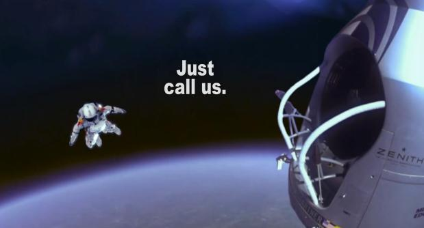Funny Spoof Ad For Centraal Beheer Takes The Felix Baumgartner Space Jump To New Heights