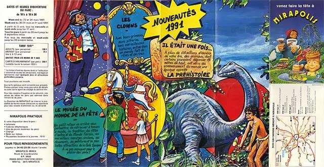 Plan Mirapolis 1991 recto