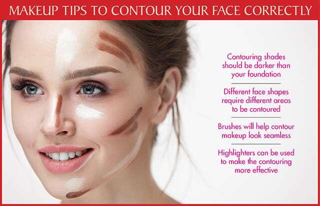 نصائح مكياج لتحديد وجهك بشكل صحيح