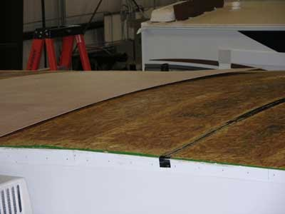 The Rv Doctor Improper Installation Of Rv Roof