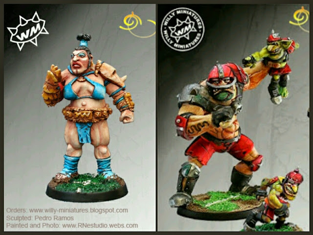 Ogros Willy Miniatures