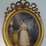 Maison de Chateaubriand : portrait de Mademoiselle de G. dans un par, 1849, huile sur toile, par Adèle Grasset (première moitié du 19e s.)