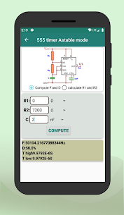 Electronic components & Circuit calculator App Download for Android 4