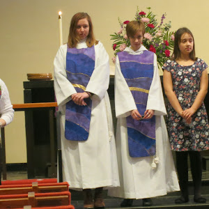 March 8,2015 Acolyte Recognition