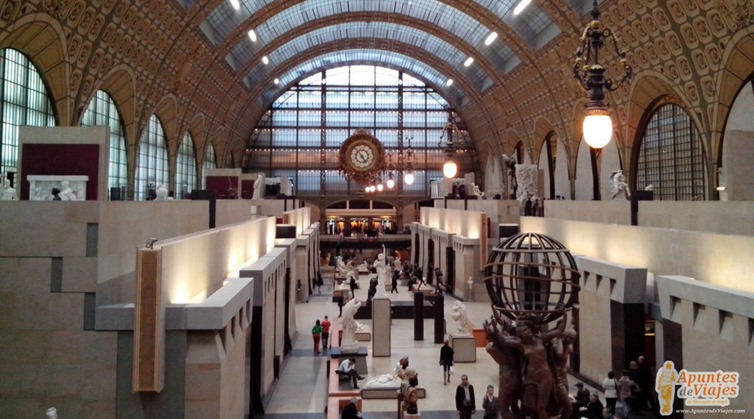 Visitar Paris Museo de Orsay 1