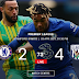 The end of the positive Chelsea streak at the hands of West Bromich