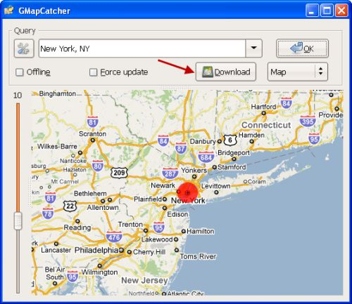 GMapCatcher for Mac OS X 0.8.0.8
