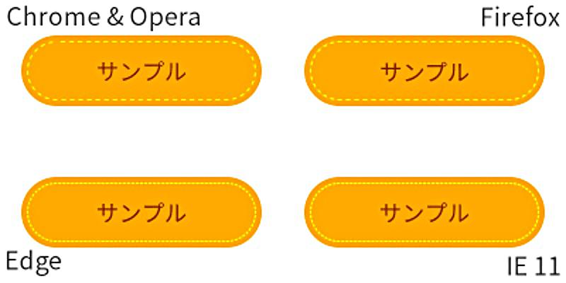 角丸(小判型)のシンプルなツムツム風ボタン