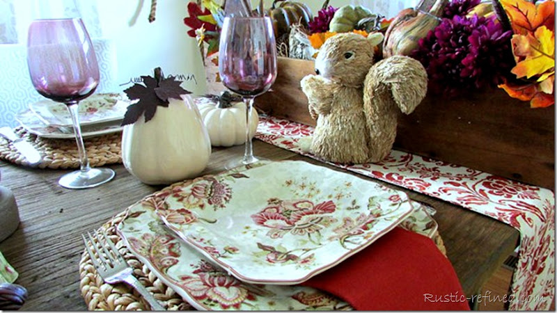 Tablescape Idea for the Fall Season
