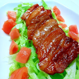 Easy Frying Pan Braised Pork Belly