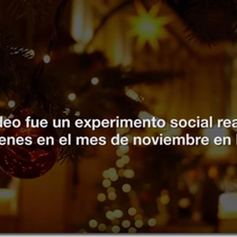Emotivo video Navideño que hizo cambiar a 27 jóvenes