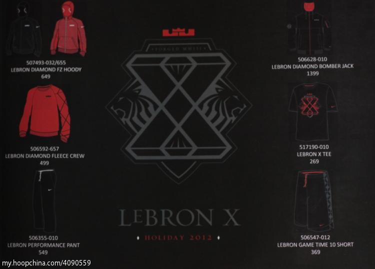 ... Teaser Nike LeBron X Holiday 2012 Collection Preview ... 156cc66ae6