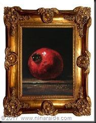 Pomgranate framed