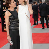 OIC - ENTSIMAGES.COM - Tamsin Greig and Haydn Gwynne at the The Olivier Awards in London 12th April 2015  Photo Mobis Photos/OIC 0203 174 1069