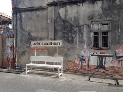 Wall Mural Street Art Songkhla