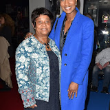OIC - ENTSIMAGES.COM - Doreen Lawrence OBE and Denise Lewis at the  I Am The Greatest - Muhammad Ali exhibition at The O2 London 3rd  March 2016 Photo Mobis Photos/OIC 0203 174 1069
