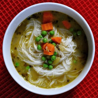 Chicken Rice-Noodle Soup