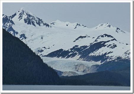 Portage Glacier near Whittier Alaska