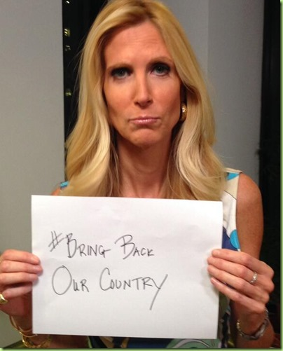 coulter bring back our country