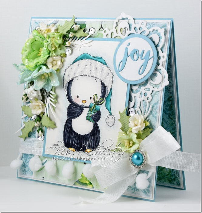 Bev-Rochester-Whimsy-penguin-with-present2