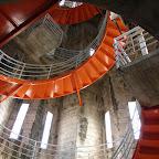 Escaleras hacia el corredor de la Catedral