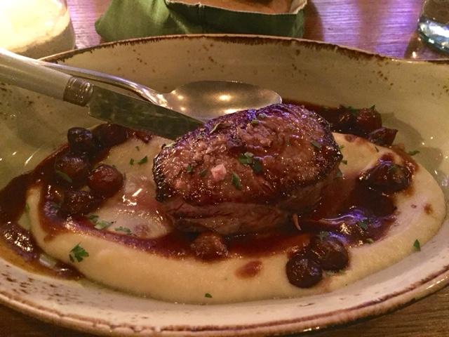 Ilan's veal sirloin steak