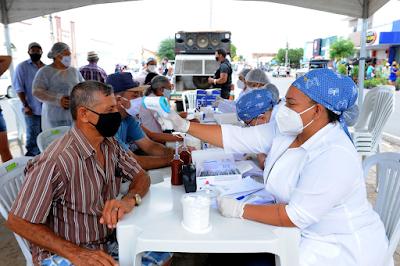 Utilidade pública: Prefeitura de Monteiro realiza mutirão de testes para Covid-19