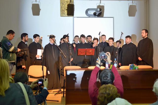 Conferinta Despre martiri cu Dan Puric, FTOUB 005