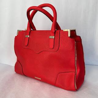 Rebecca Minkoff Red Leather Crossbody 0Bag