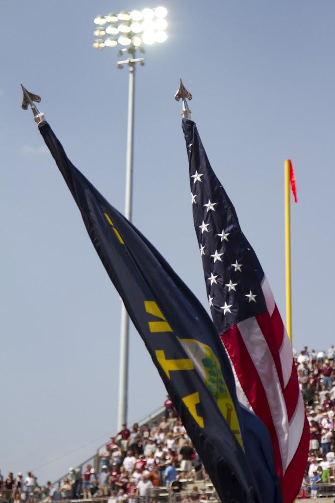 Washington - Grizzly Stadium, Montana Grizzlies vs. South Dakota Coyotes.  Missoula, MT, September 1st, 2012.