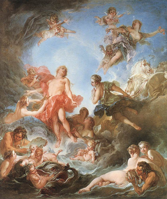 Francois Boucher - The Rising of the Sun