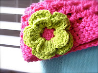 How To Crochet Small Flower - Patons Pattern - YouTube