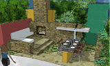 Modernist garden for Home & Garden Show Ted Cleary, ASLA Studio Cleary Landscape Architecture