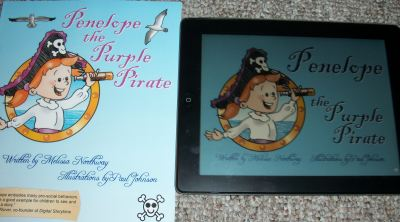 Penelope the Purple Pirate book and app