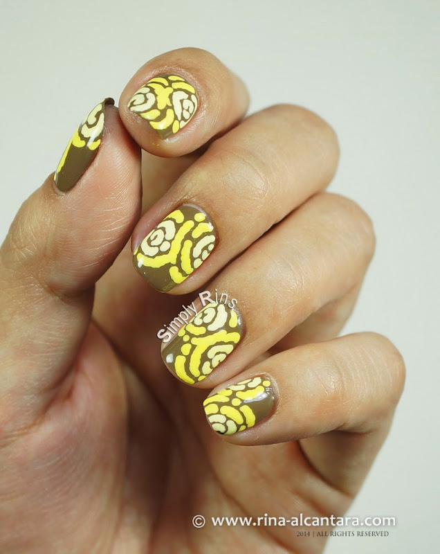 Merry Go Yellow Nail by Simply Rins