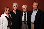 Kelly Bradley (Founder), Kathy Whitworth, Joe Bradley (94 yr old MMOW home delivery meal participant), Scott Bradley Photos taken by Matt Tilbury of Tilbury Photography