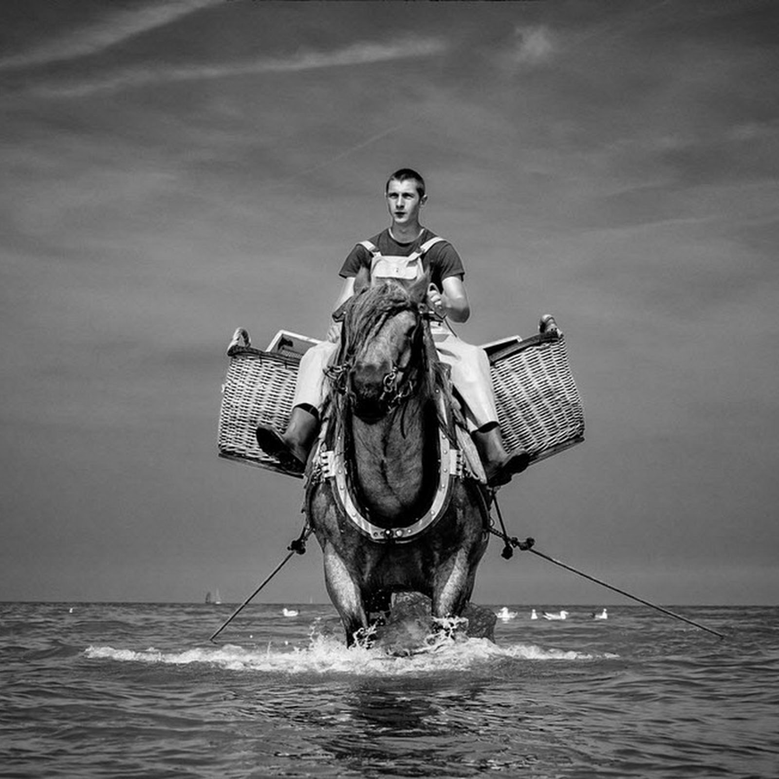 The Horseback Fishermen of Oostduinkerke
