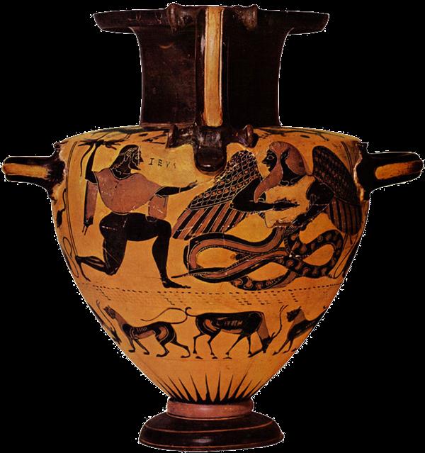 Hidria-ateniense-Lucha-entre-Zeus-y-Tifón-Museo-Metropolitan-550-a.-C.