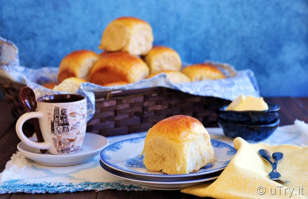 Hawaiian Buns (Tang Zhong Method) 夏威夷麵包-湯種法    http://uTry.it