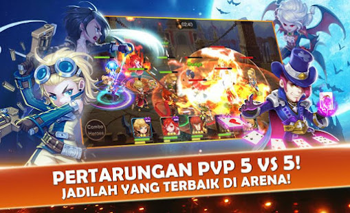 Mod Game Seven Paladins ID: Game 3D RPG x MOBA for Android
