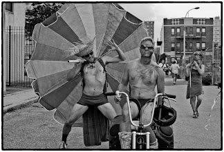 Photo: The Coney Island Mermaid Parade, Brooklyn, NYC #streetphotography #newyorkcityphotography #photography  www.leannestaples.com