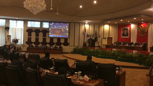 Dari Rapat Paripurna DPRD Sulut, Jokowi Harap Indonesia Tetap Bersatu