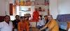 वनखण्डी आश्रम कटेरा में नवचंडी यज्ञ को लेकर हुई बैठक