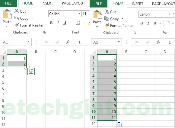 How to become an excel power user - excel AUTO FILL