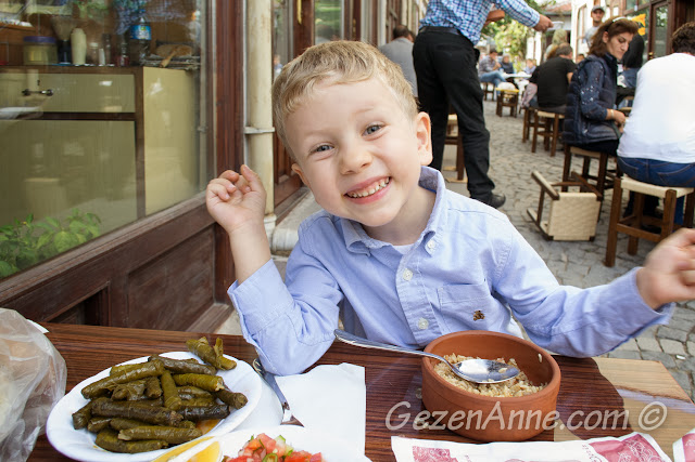 yemek yerken, Tarihi Güveç Fırını Beypazarı