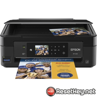 Reset Epson XP-424 ink pads are at the end of their service life