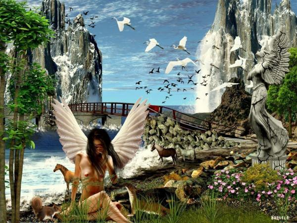 Charming Angel Of Nature, Angels 2